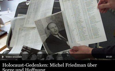 """Michel Friedman über Oskar Schindler: """"Steh auf, tu es"""""""