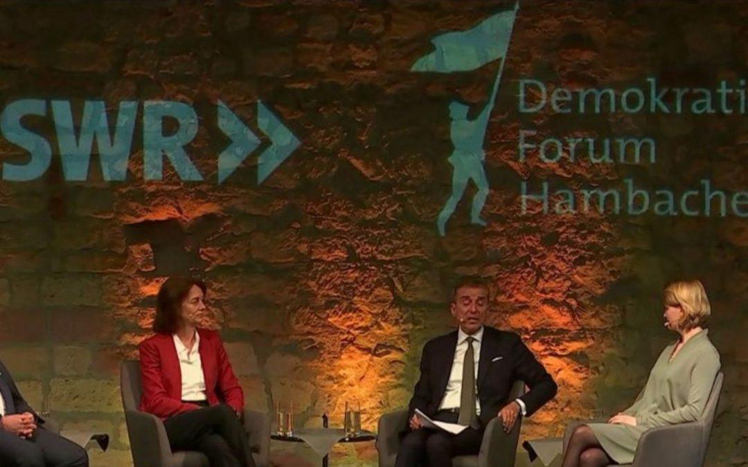 SWR – Demokratie Forum Hambacher Schloss. Quo vadis Europa?