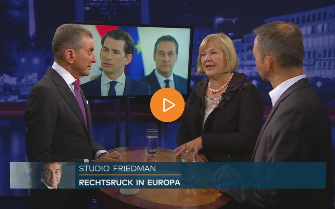 Studio Friedman: National oder sozial – wohin geht Europa?