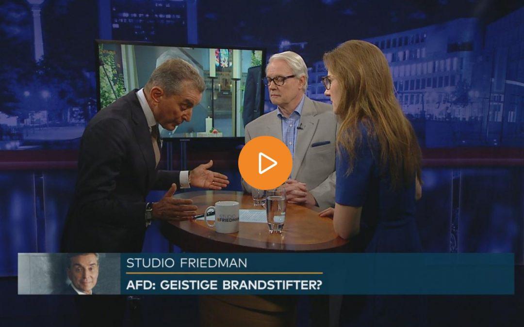 Studio Friedman: Hitze, Unwetter, Waldbrände – wie stoppen wir den Klimawandel?