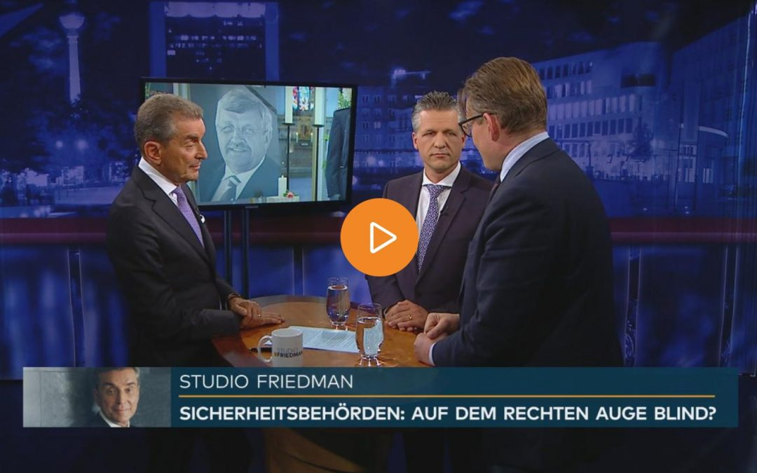 Studio Friedman: Mordfall Lübcke – wurde rechter Terror zu lange unterschätzt?