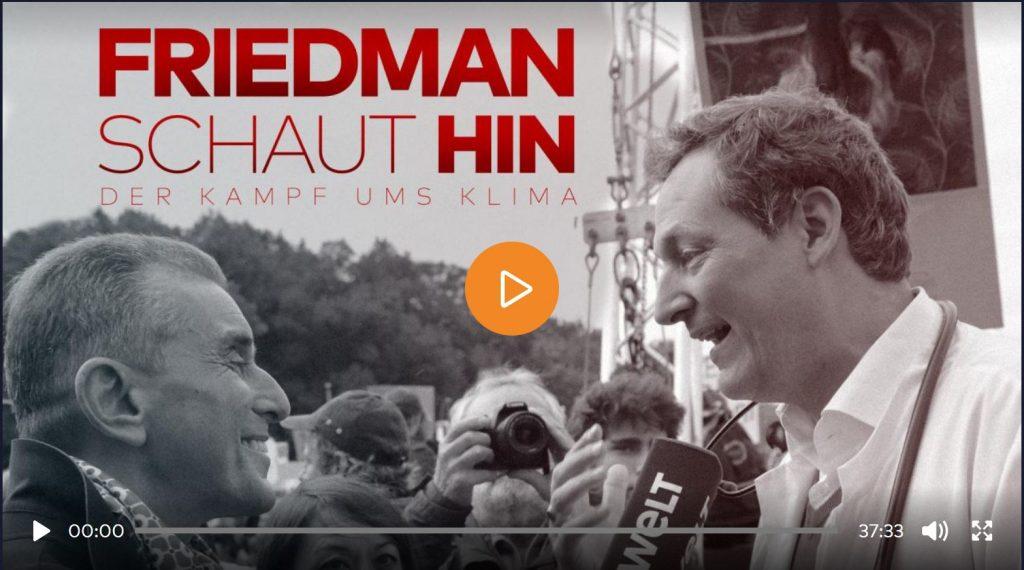 Friedman schaut hin: Der Kampf ums Klima