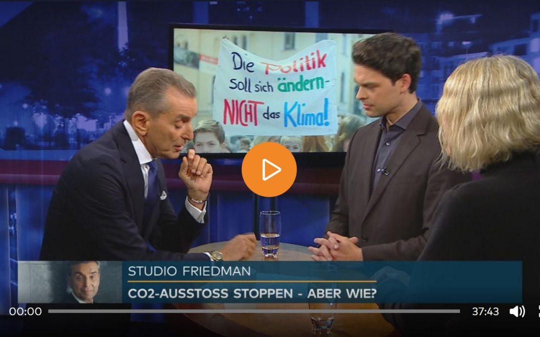 Studio Friedman: Wie gelingt Deutschland die klimapolitische Wende?