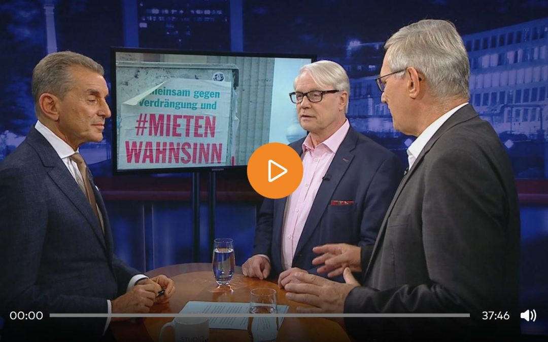 Studio Friedman: Mietendeckel in Berlin – sozial oder ungerecht?