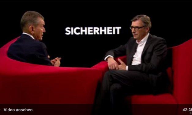Auf ein Wort… Sicherheit – Michel Friedman im Gespräch mit Christopher Daase