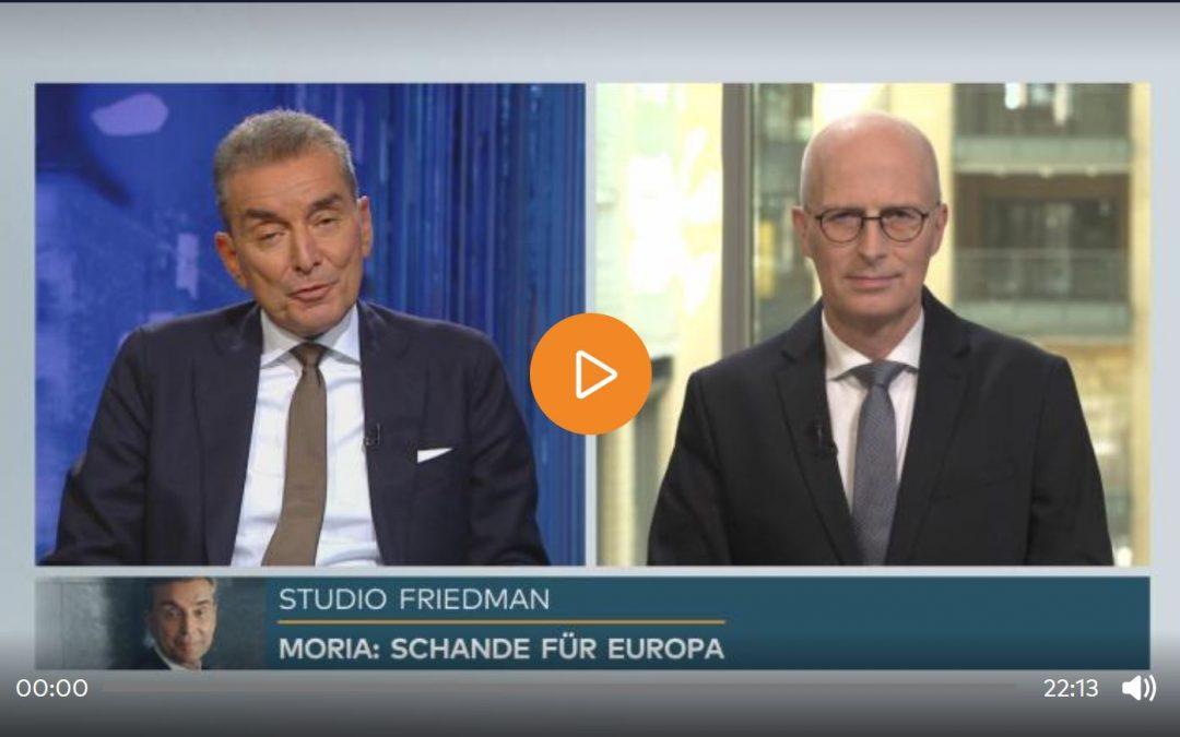 Studio Friedman: Peter Tschentscher über die Ausrichtung der SPD