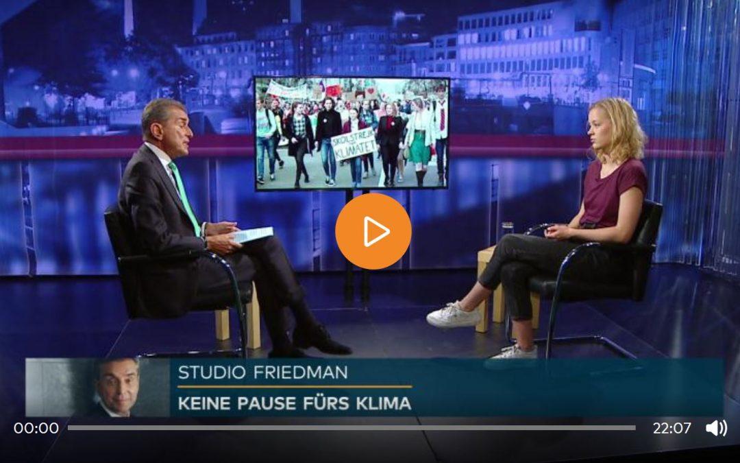 Studio Friedman: Plötzlich grün – wie glaubwürdig ist deutsche und europäische Klimapolitik?