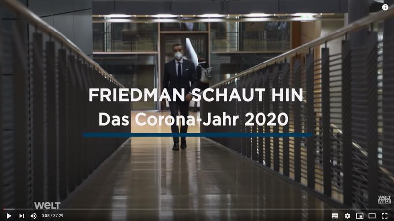 Friedman schaut hin das Corona Jahr 2020