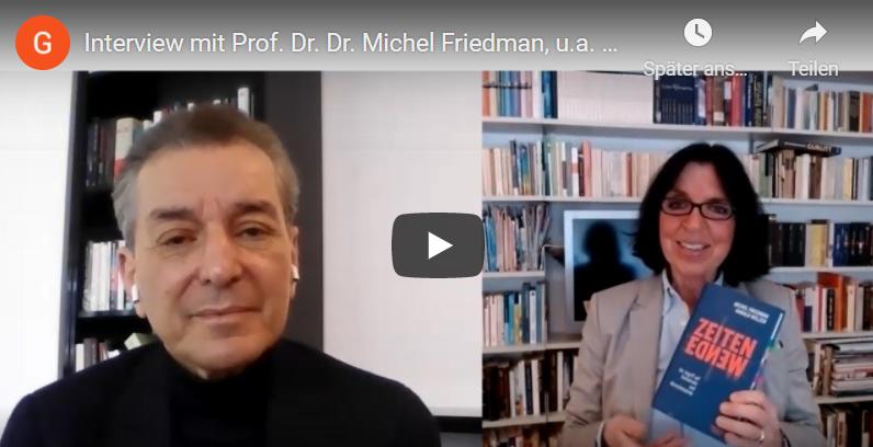 Jerusalemfoundation Interview mit Michel Friedman