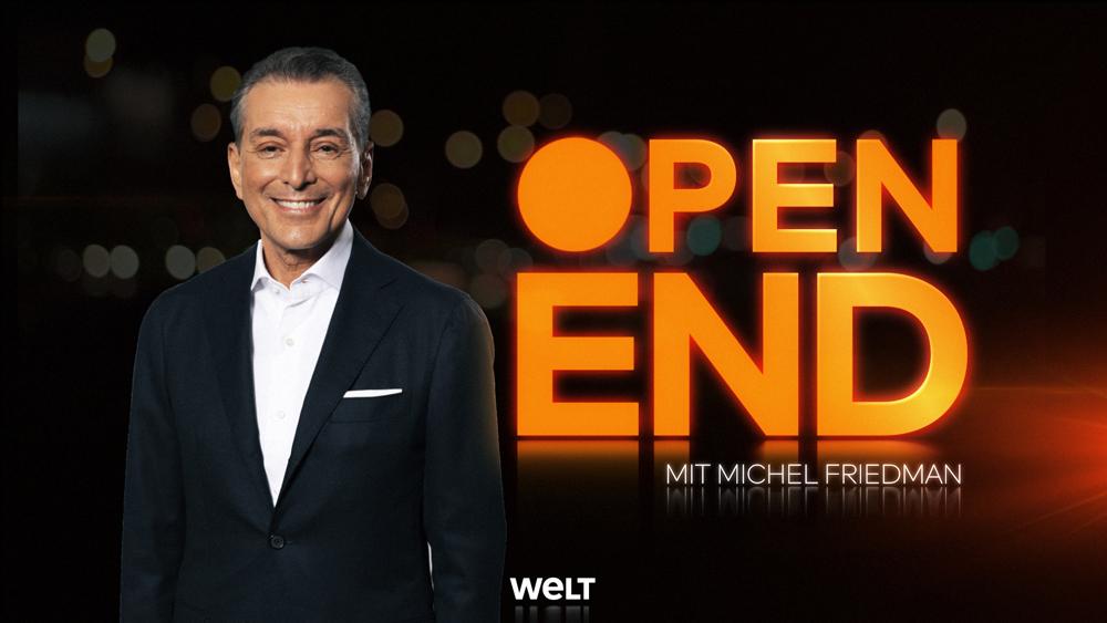 OPEN END – STREIT: Mit Florian Schröder, Muhterem Aras, Christian Schertz und Michel Friedman